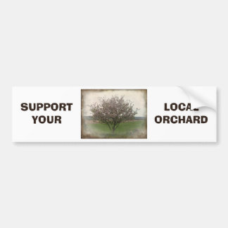 Apple Tree in Bloom Bumper Sticker