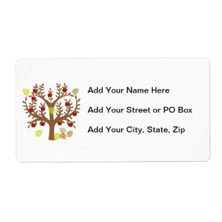 Apple Tree Label