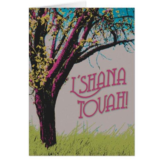 Apple Tree L'shana Tovah card