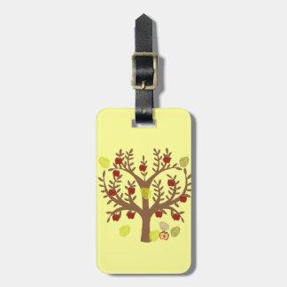 Apple Tree Bag Tag