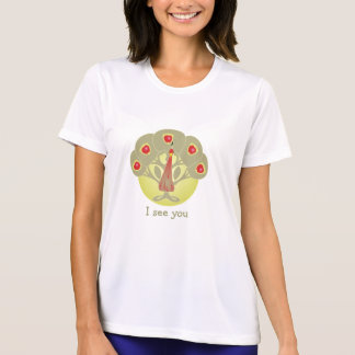 Apple Tree or Face or Peacock Shirt