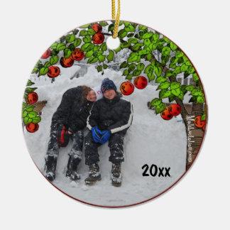 Apple Tree Photo Frame Keepsake Ornament