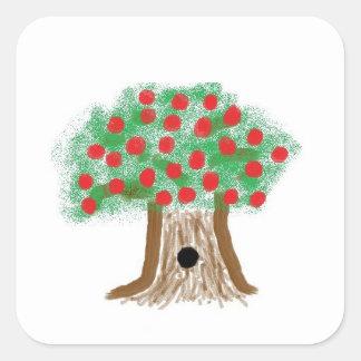 Apple tree stickers