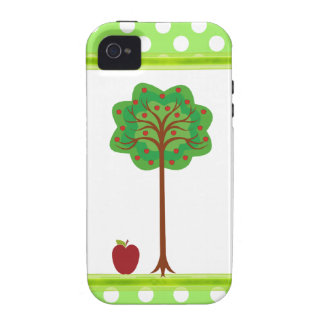 Apple Tree Teacher's iPhone Tough Case Case For The iPhone 4