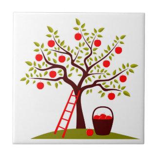 Apple Tree Ceramic Tile