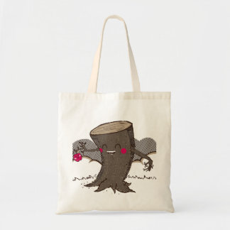 Apple & Tree Trunk Tote