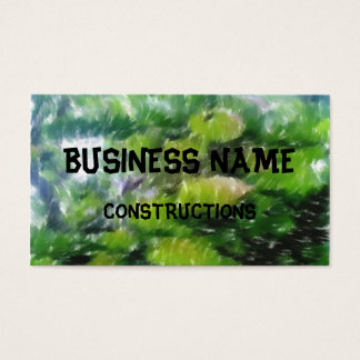 Apple tree with apples business card