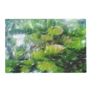 Apple tree with apples placemat
