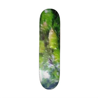 Apple tree with apples skate board deck