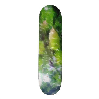 Apple tree with apples skate deck