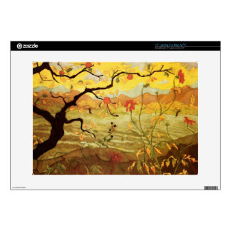 Apple Tree with Red Fruit Laptop Decals