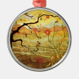 Apple Tree with Red Fruit Ornament