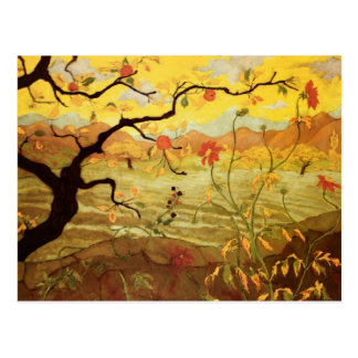 Apple Tree with Red Fruit Postcard