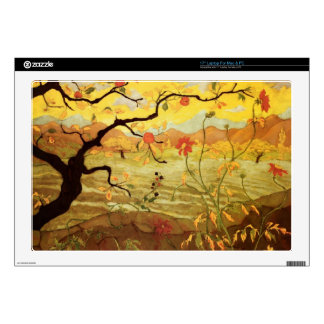 Apple Tree with Red Fruit Skin For Laptop