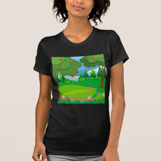 Apple trees in the orchard T-Shirt