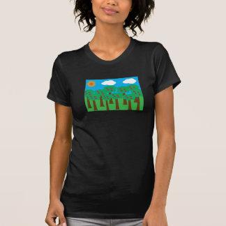 Apple Trees Womens T-Shirt