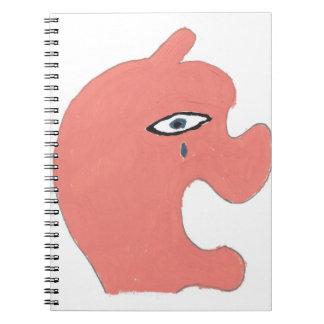 Apple triste cuadernos