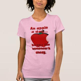 Apple una camisa del día