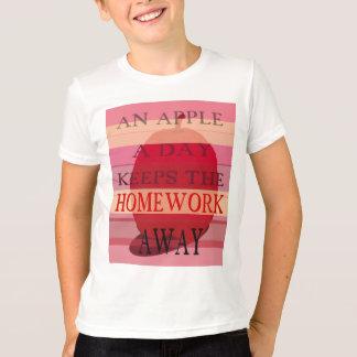 Apple una camiseta del día