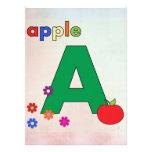 Apple una letra A