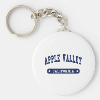 Apple Valley California College Style t shirts Keychain