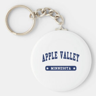 Apple Valley Minnesota College Style t shirts Keychains