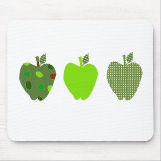 Apple verde alfombrilla de ratones