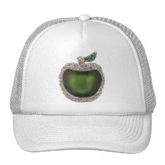 Apple verde Jeweled Gorra