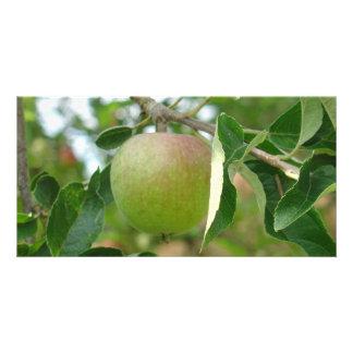 Apple verde jugoso tarjetas personales