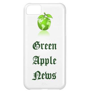 Apple verde llama por teléfono carcasa iPhone 5C