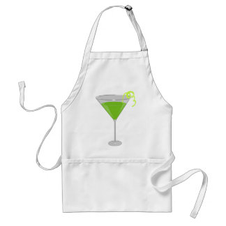 Apple verde Martini Delantal