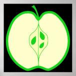 Apple verde medio posters