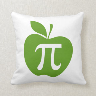 Apple verde pi cojin
