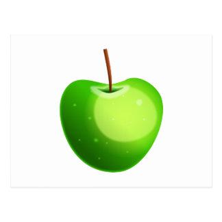 Apple verde postales