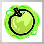 Apple verde poster