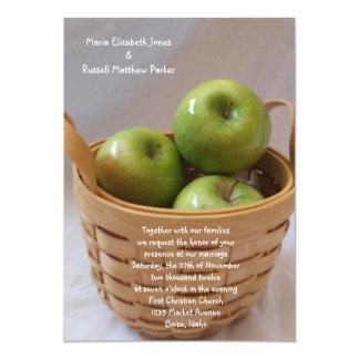 Apple verde que casa invitaciones comunicado personal