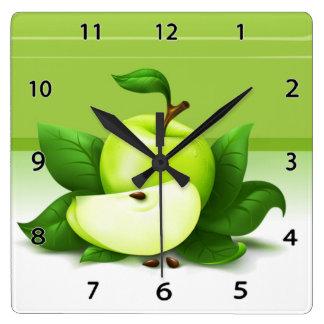 Apple verde registra reloj cuadrado