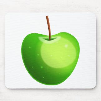 Apple verde alfombrillas de ratón