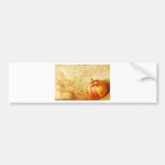 Apple vintage design bumper sticker