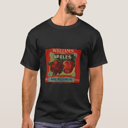 Apple Vintage Old Retro Crate Product Goods Labels T-Shirt