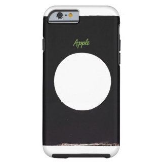 Apple vinyl 45 rpm 7 inch record sleeve for Iphone Tough iPhone 6 Case