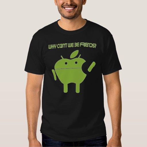 Apple vs. Droid 1 T-Shirt