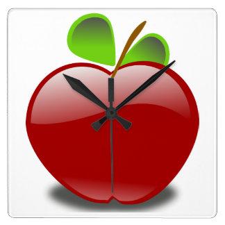 Apple Wall Clocks