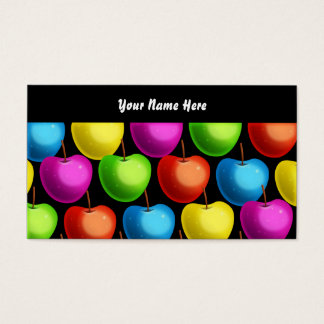 Apple Wallpaper, Your Name Here Business Card