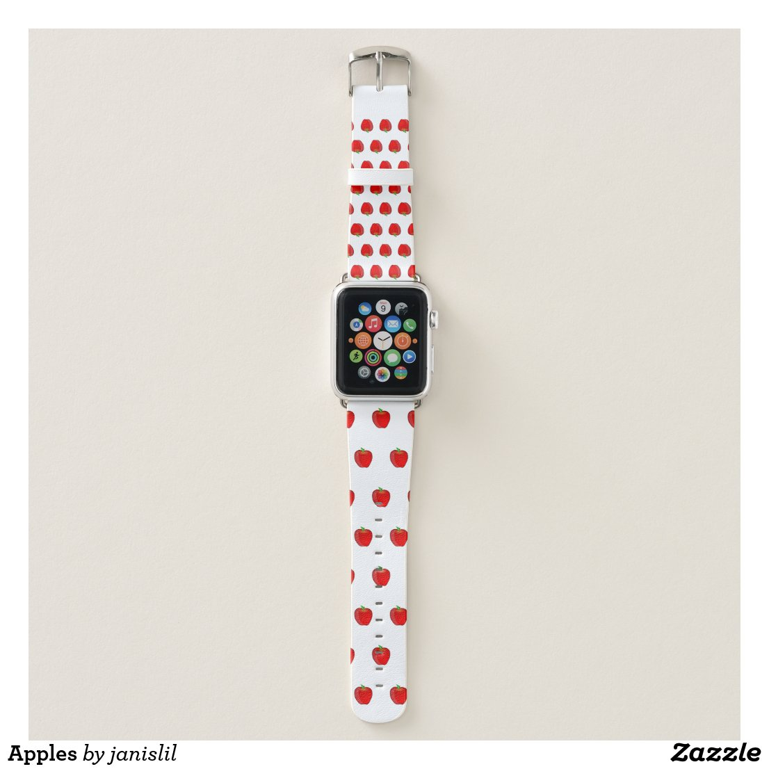 Apple Watch Band With Apples
