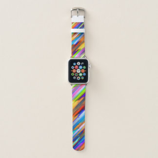 Apple Watch Bands Colorful splashing G391