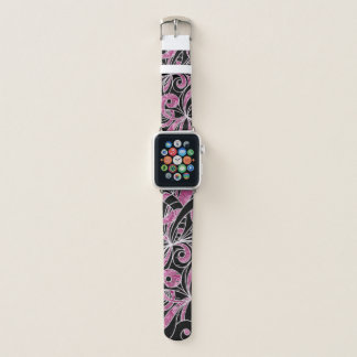 Apple Watch Bands Drawing Floral