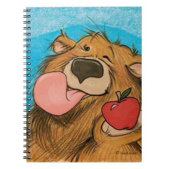 Apple Winking Bear / Notebook