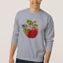 Apple & Worm, back to school Sweatshirt