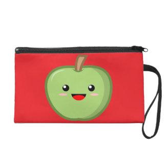 Apple Wristlet Purse